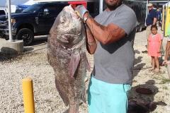 Hubern Doxey, Jr. - Black Drum @ 53.36 lbs.