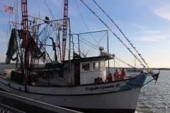 "The shrimping vessel ""Cajun Cross"""