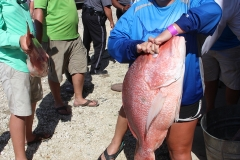 Amber Baker - Red Snapper @ 18.96 lbs.